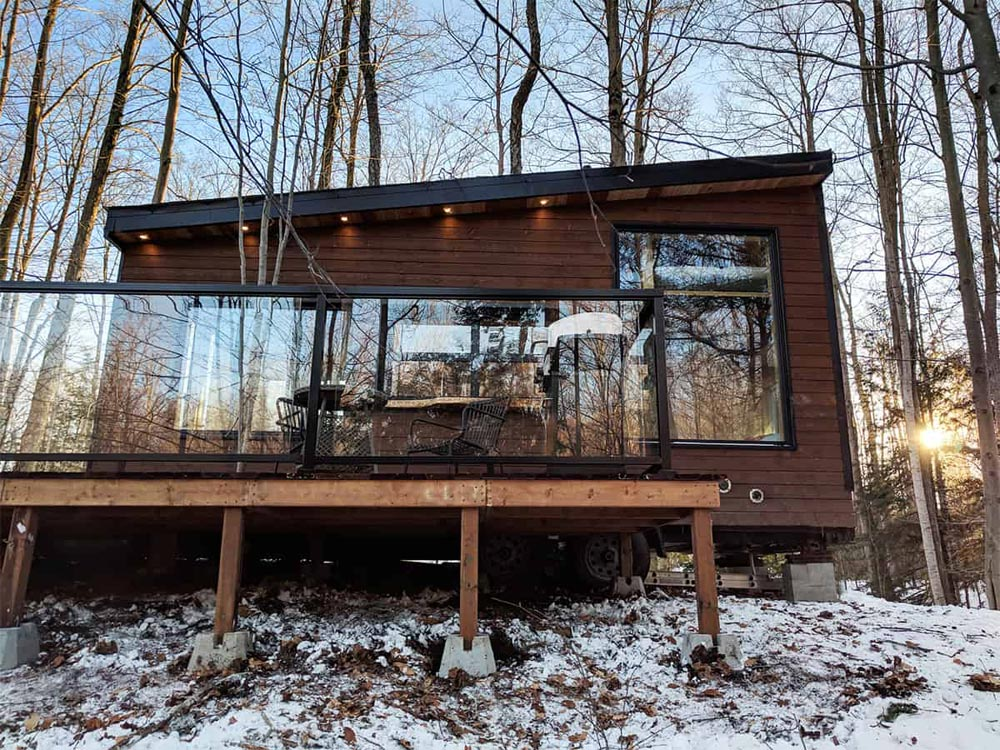 Tiny Cabin - Dashi by Cabinscape
