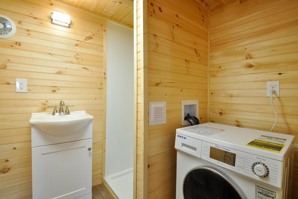 Washer/Dryer Combo - Fairview by Tiny House Building Company