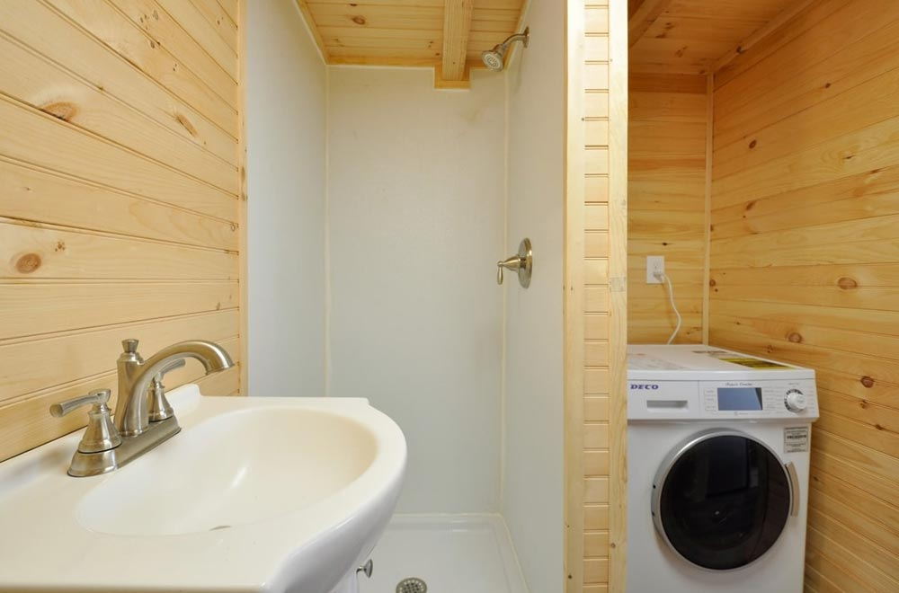 Shower - Fairview by Tiny House Building Company