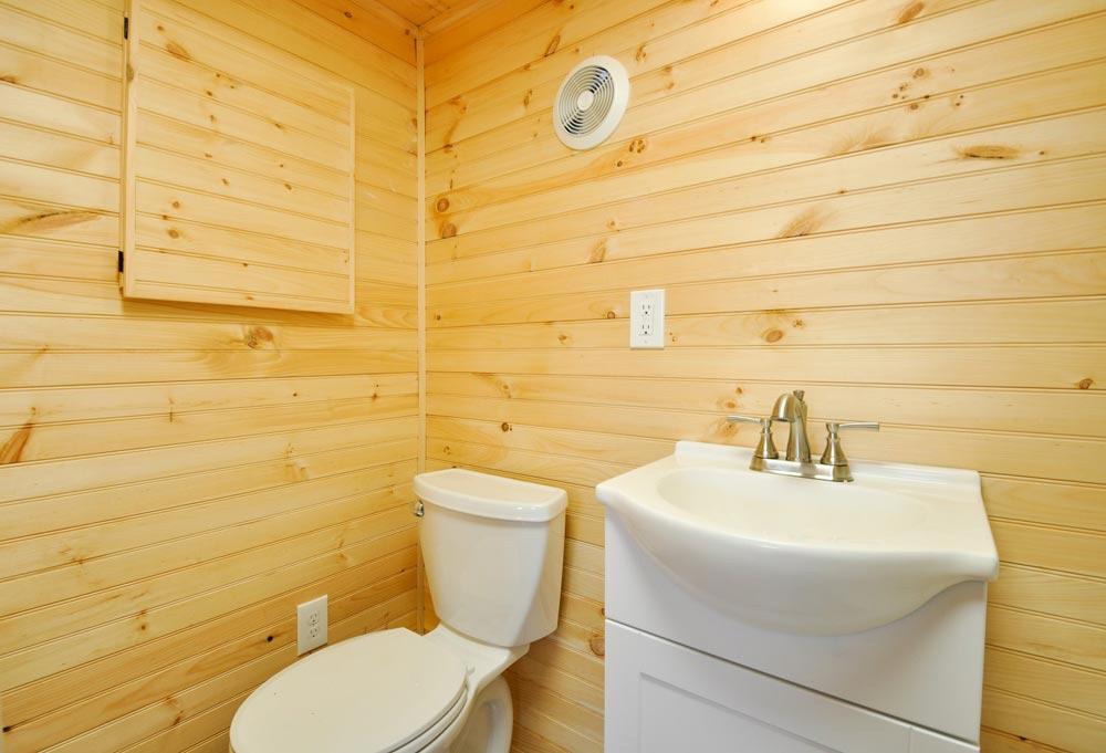Bathroom - Fairview by Tiny House Building Company