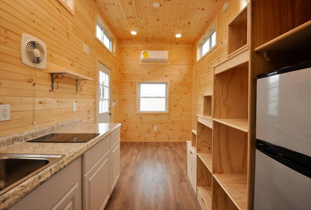 Kitchen & Living Room - Fairview by Tiny House Building Company