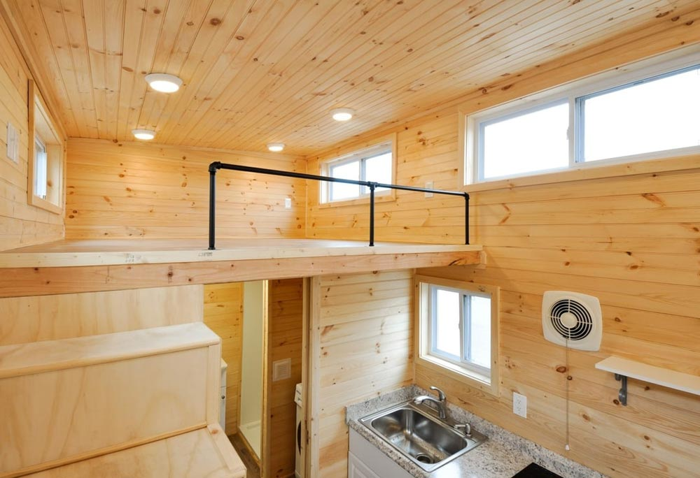 Loft Railing - Fairview by Tiny House Building Company