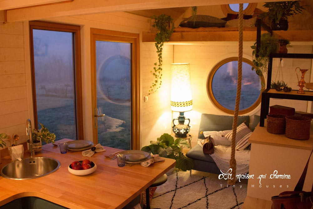 Full Light Entry Door - Flore by La Maison Qui Chemine