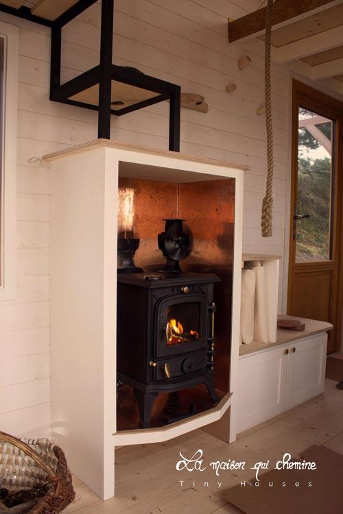 Wood Burning Stove - Flore by La Maison Qui Chemine