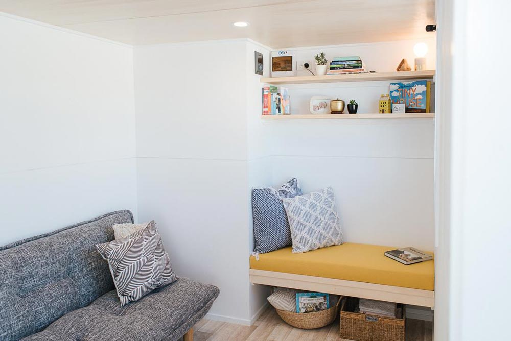 Lounge Area - Ibbotson Tiny House by Build Tiny