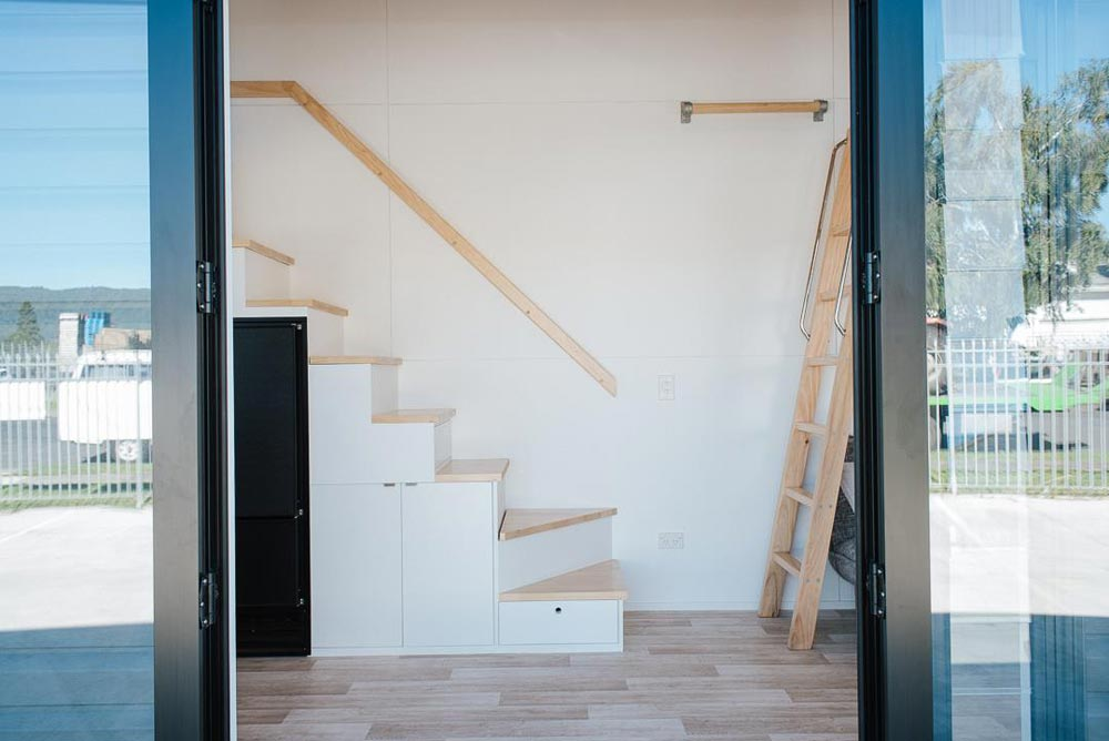 Entryway - Ibbotson Tiny House by Build Tiny