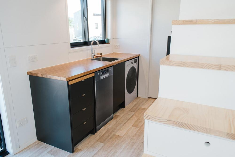 Roll-Out Drawers - Ibbotson Tiny House by Build Tiny