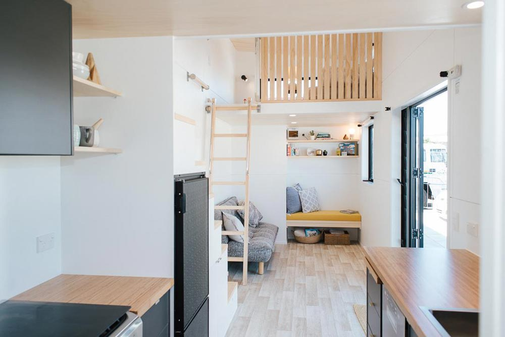 Main Living Area - Ibbotson Tiny House by Build Tiny