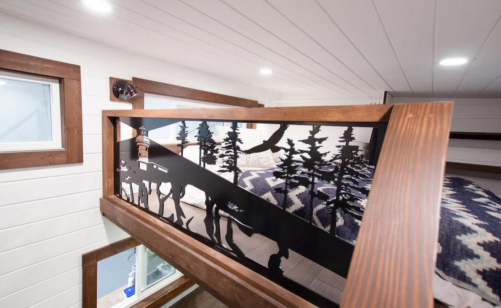 Custom Railing - Starling by Rewild Homes