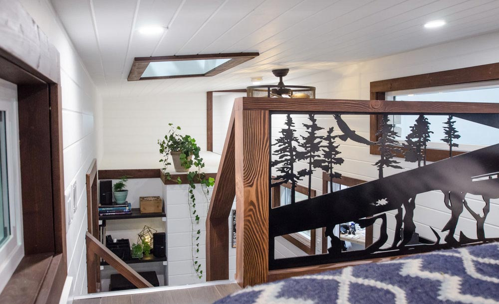 Loft Railing - Starling by Rewild Homes