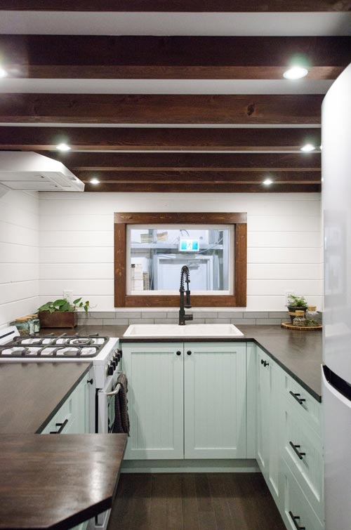 Open Beam Ceiling - Starling by Rewild Homes
