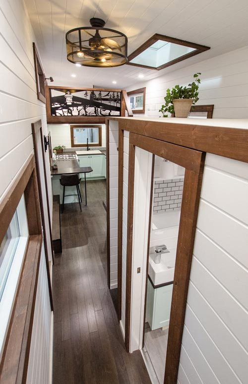 Bathroom Door - Starling by Rewild Homes