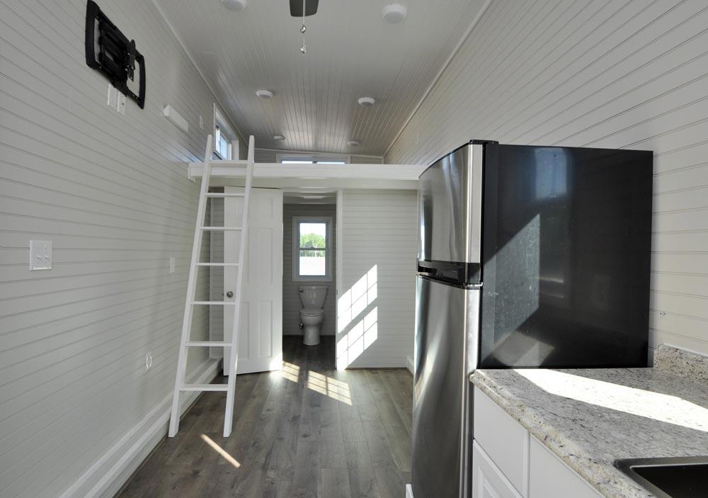 Living Room & Loft - Sunnyside by Tiny House Building Company