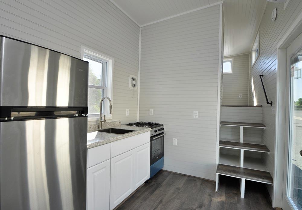 Kitchen - Sunnyside by Tiny House Building Company