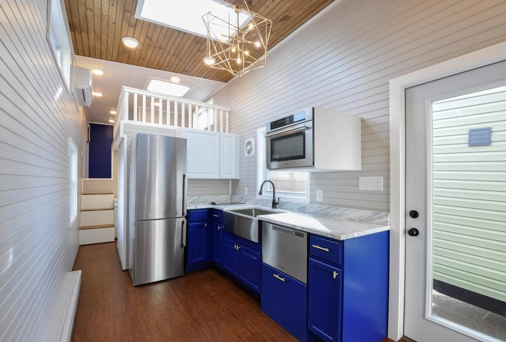 Kitchen - Waterford by Tiny House Building Company