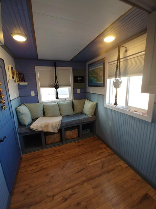 Living Room - Blue Baloo by Far Out Tiny Homes