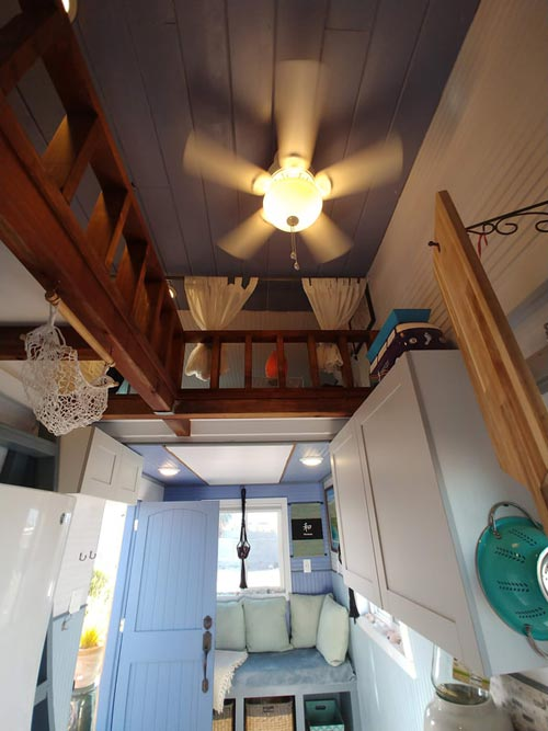 Ceiling Fan - Blue Baloo by Far Out Tiny Homes