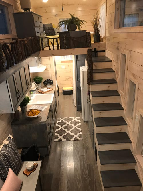 View From Loft - Dandelion by Incredible Tiny Homes