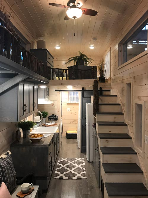 Kitchen & Loft - Dandelion by Incredible Tiny Homes