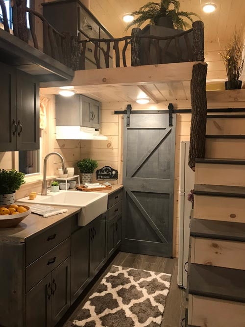 Bathroom Barn Door - Dandelion by Incredible Tiny Homes