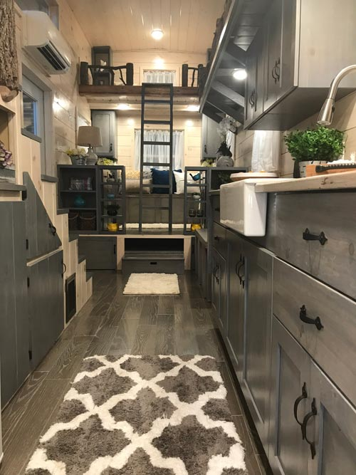 Galley Kitchen - Dandelion by Incredible Tiny Homes