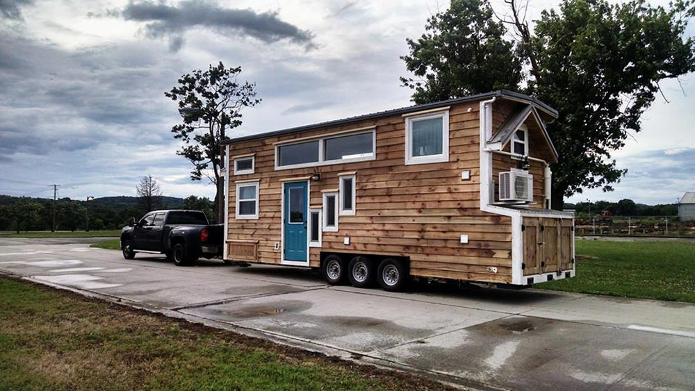 Wood Siding - Dandelion by Incredible Tiny Homes