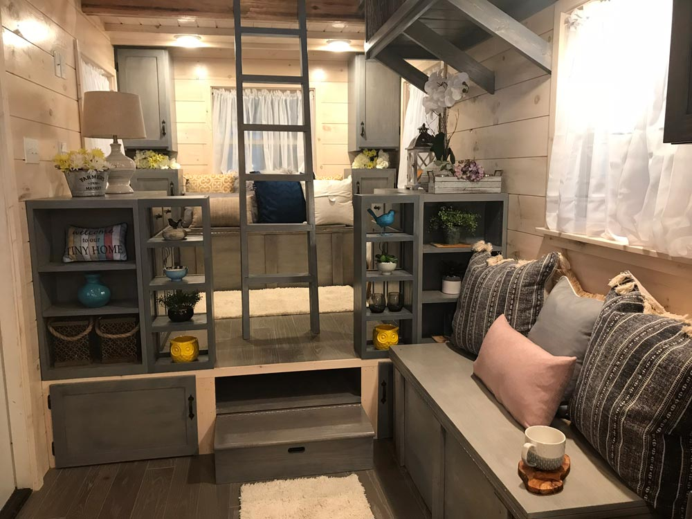 Raised Living Room - Dandelion by Incredible Tiny Homes