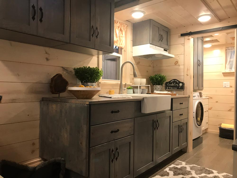 Kitchen Cabinets - Dandelion by Incredible Tiny Homes