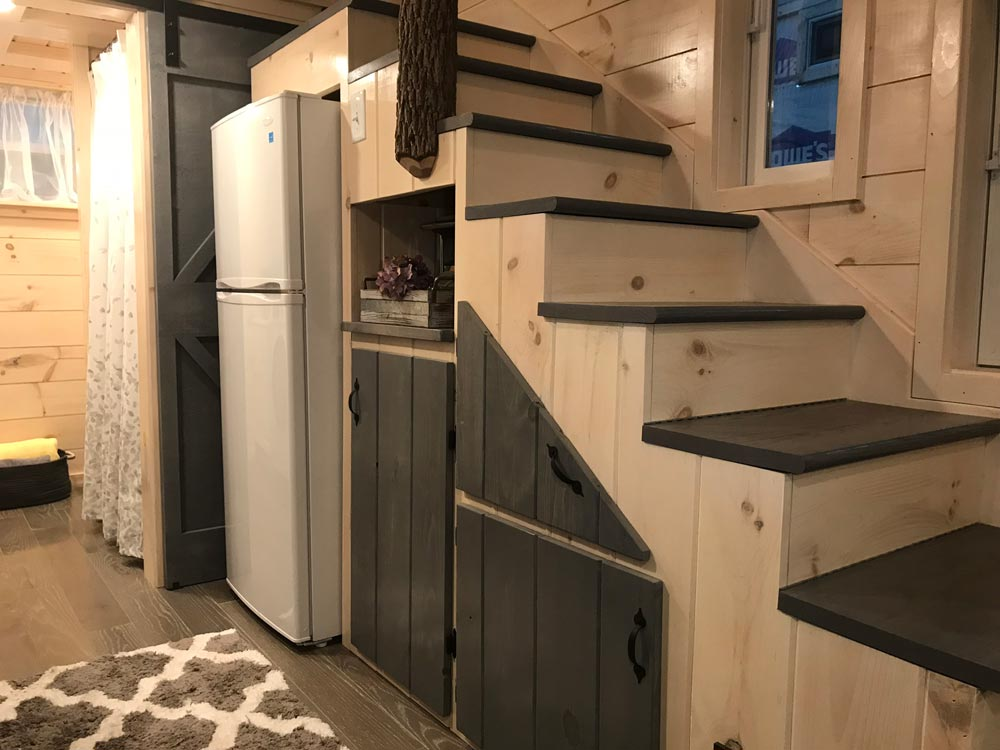 Storage Stairs - Dandelion by Incredible Tiny Homes