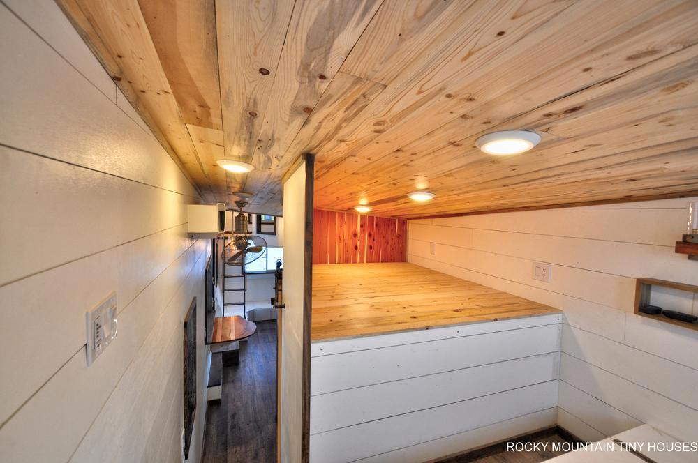 Bedroom Closet - Infinitely Stoked by Rocky Mountain Tiny Houses