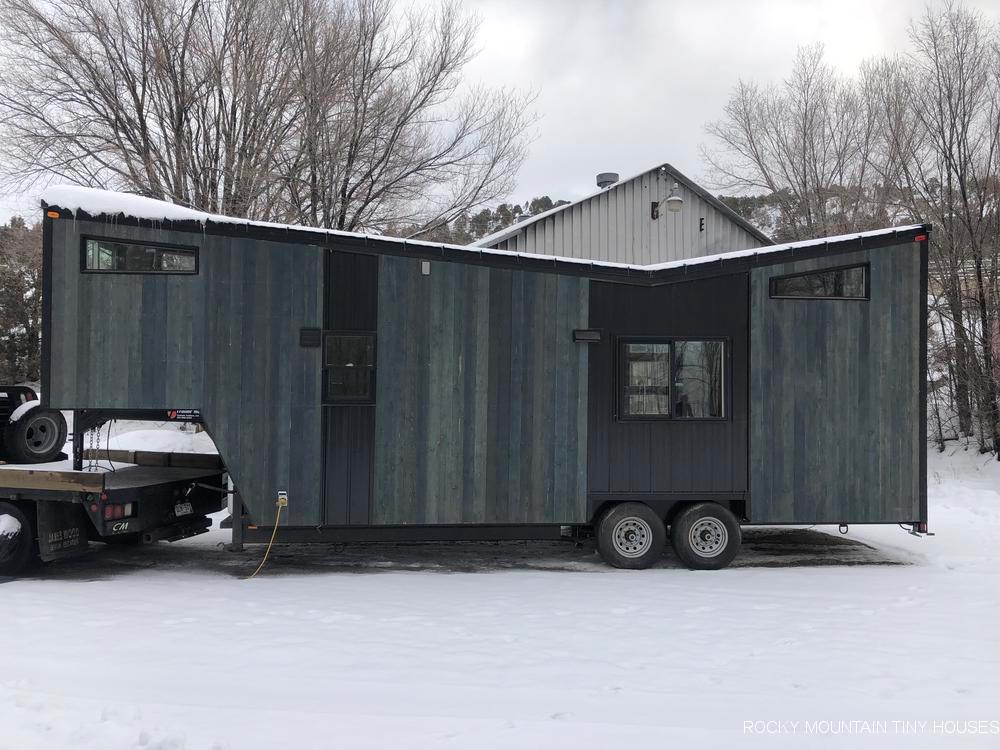 Gooseneck Tiny Home - Infinitely Stoked by Rocky Mountain Tiny Houses
