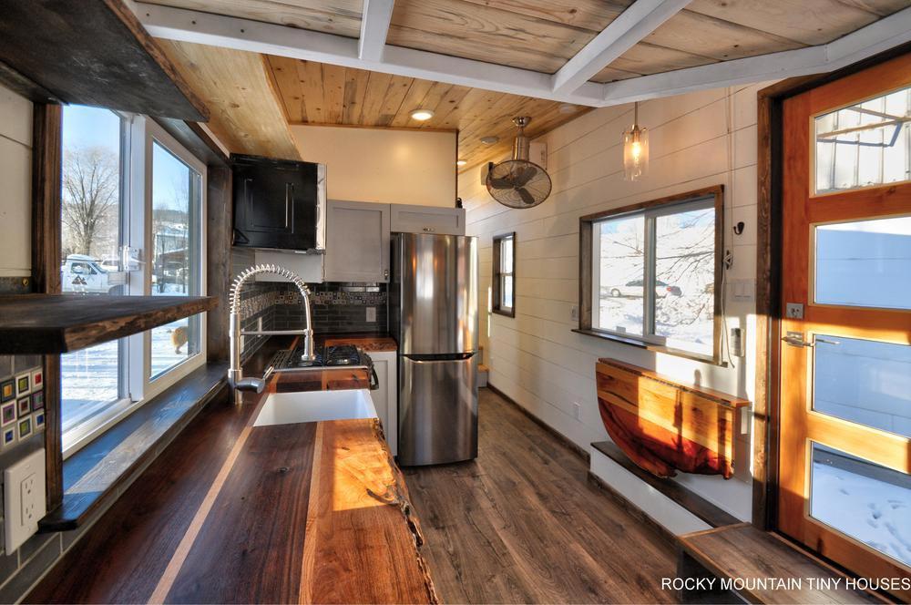 Custom Kitchen - Infinitely Stoked by Rocky Mountain Tiny Houses