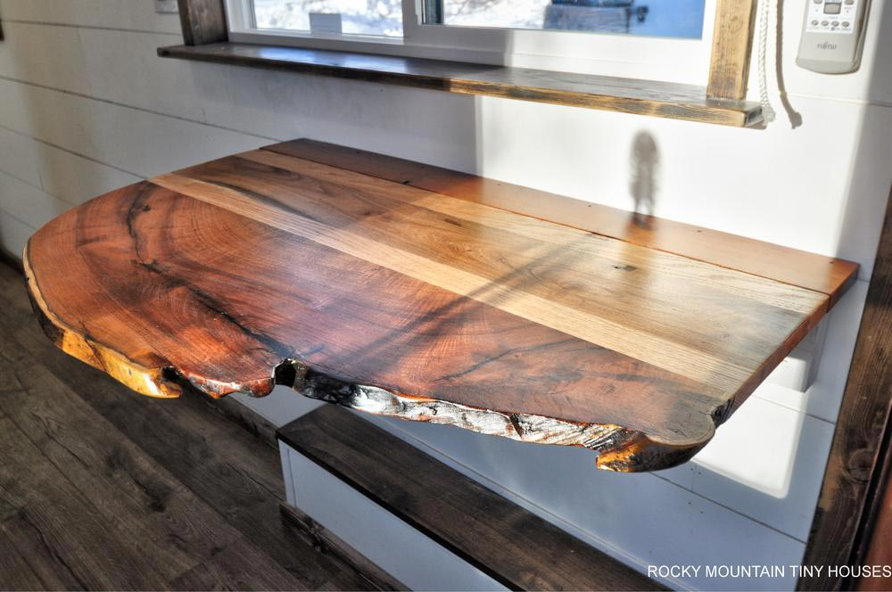 Live Edge Table - Infinitely Stoked by Rocky Mountain Tiny Houses
