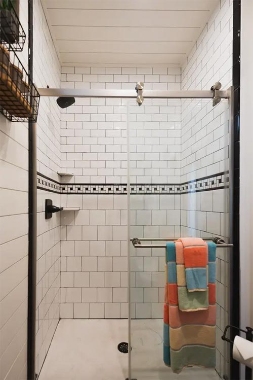 Tile Shower - Mainsail by CargoHome