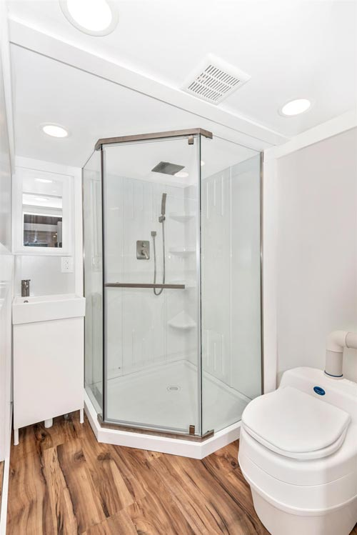 Corner Shower - Sanibel by Humble Houses