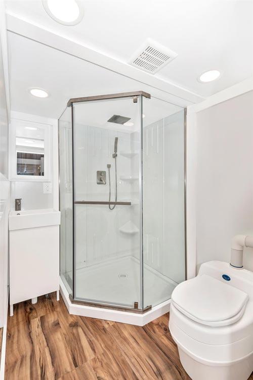 Corner Shower - Sanibel by Humble Houses