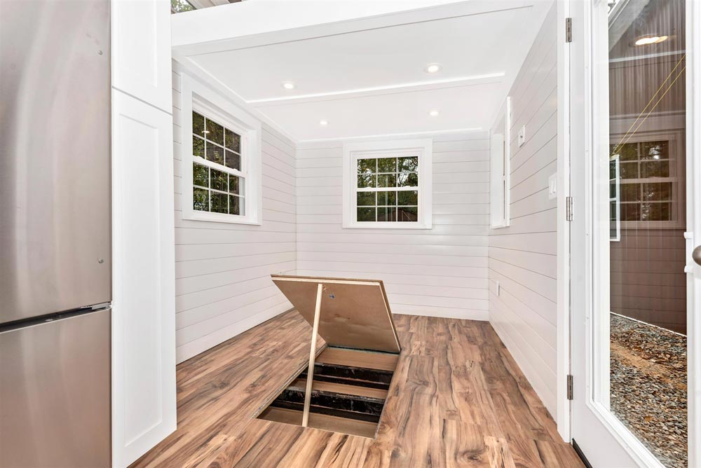 In-Floor Storage - Sanibel by Humble Houses