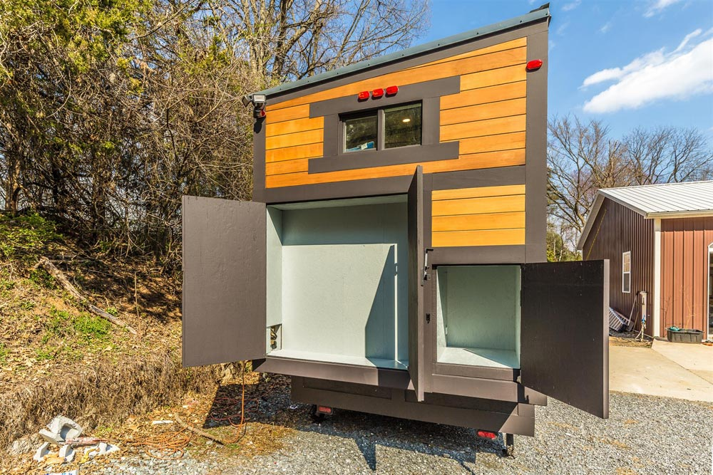 Exterior Storage - Sugarloaf by Humble Houses