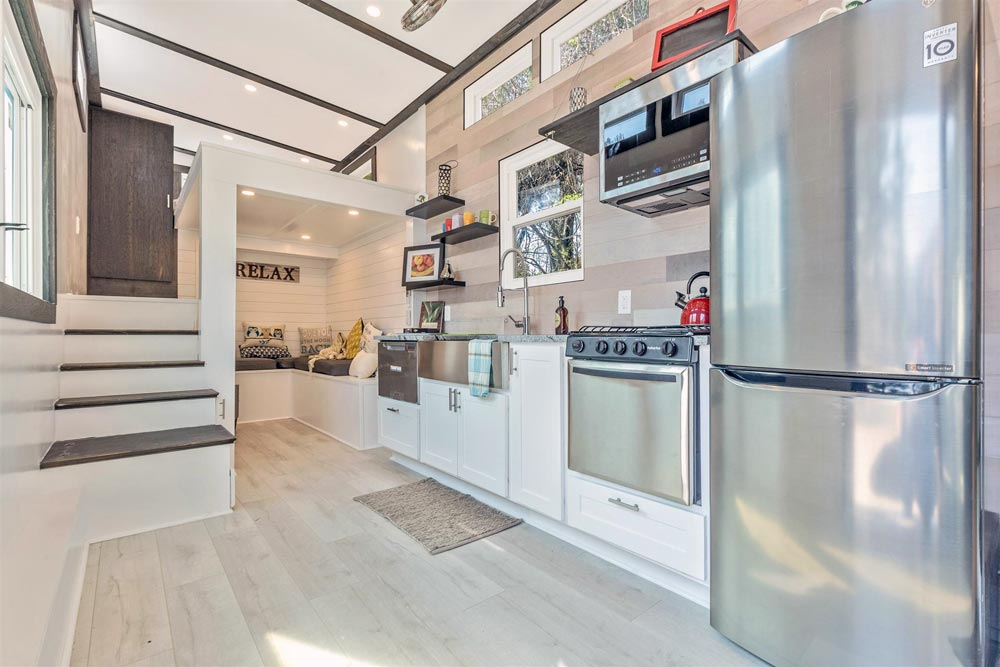 Kitchen w/ Stainless Steel Appliances - Sugarloaf by Humble Houses