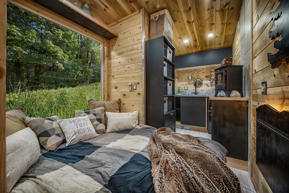 Main Floor Bed - Acorn by Backcountry Tiny Homes