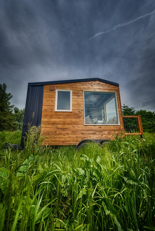 Exterior View - Acorn by Backcountry Tiny Homes