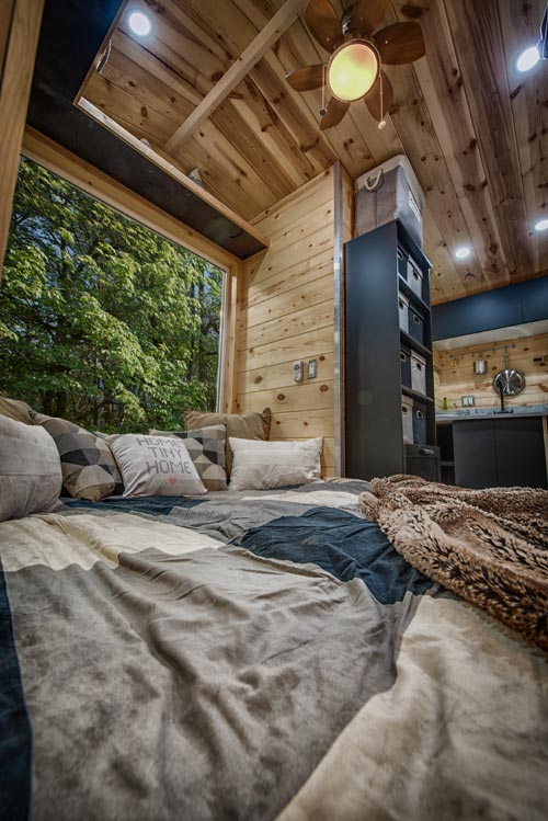 Bedroom/Living Room - Acorn by Backcountry Tiny Homes