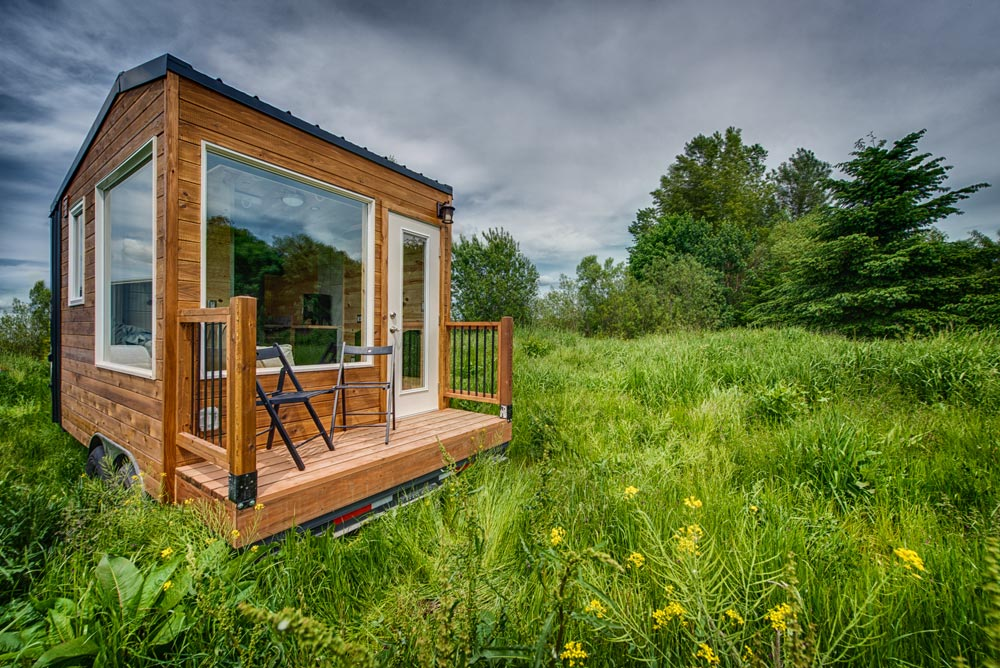 Deck - Acorn by Backcountry Tiny Homes