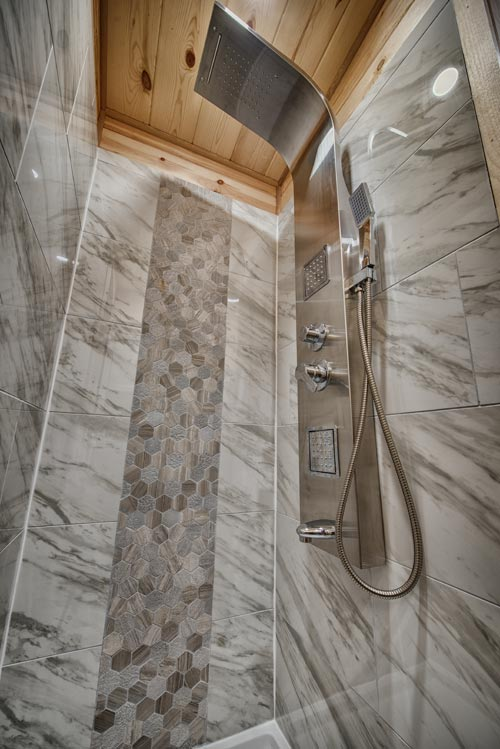 Shower Stall - Acorn by Backcountry Tiny Homes