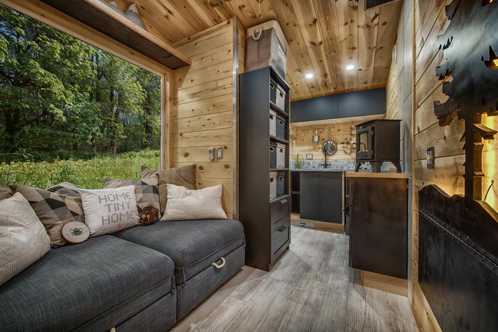 Interior View - Acorn by Backcountry Tiny Homes