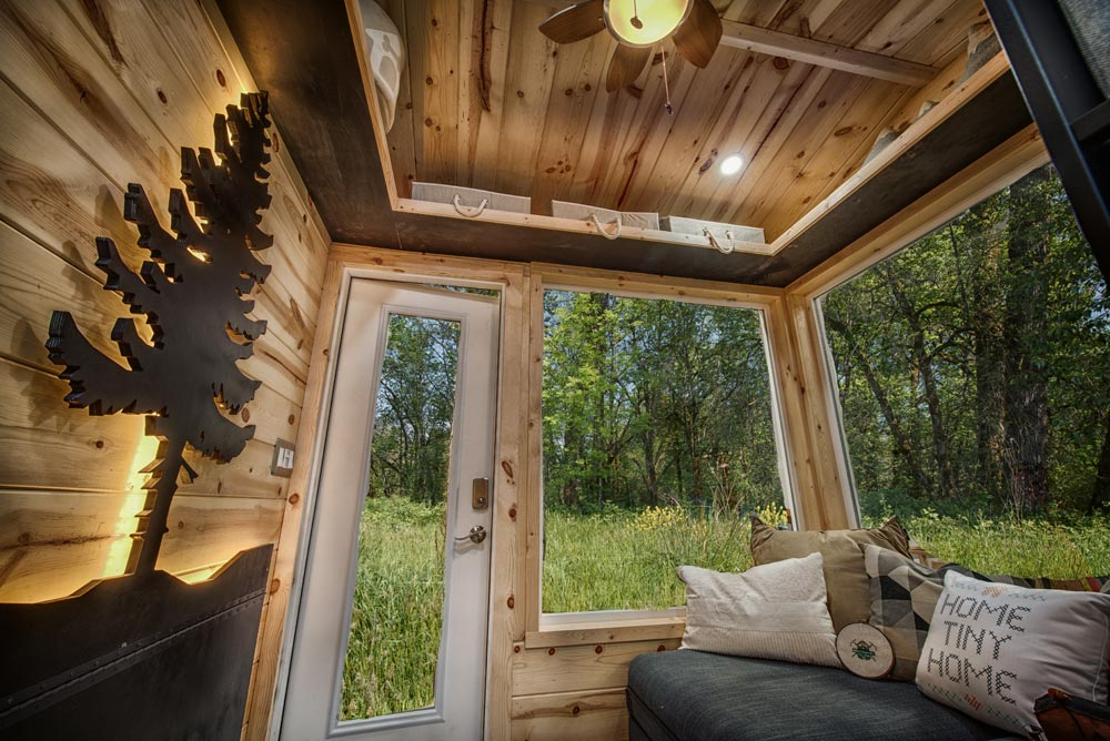 Living Room - Acorn by Backcountry Tiny Homes