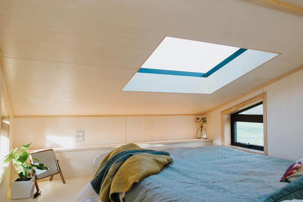 Bedroom Skylight - First Light Tiny House by Build Tiny