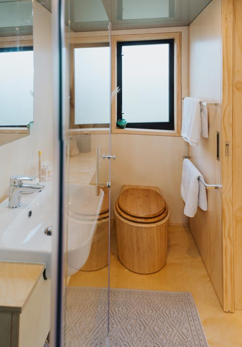 Composting Toilet - First Light Tiny House by Build Tiny
