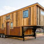 Ross' 35′ Gooseneck Tiny House by Mitchcraft Tiny Homes
