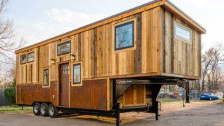 Ross' 35' Gooseneck Tiny House by Mitchcraft Tiny Homes